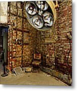 Operating Room - Eastern State Penitentiary Metal Print