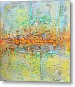 Orange Intenference Metal Print