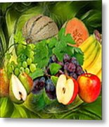 Orchard Metal Print by Manfred Lutzius