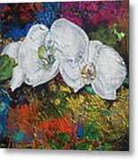 Orchid Mini Metal Print