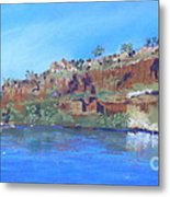 Ord River Afteroon Cruise Metal Print