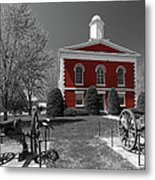 Order In The Court Metal Print