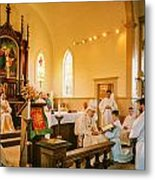 Ordination 3 Metal Print