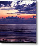 Oregon - Lincoln City Sunset Metal Print by Terry Elniski