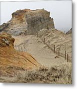 Oregon Sand Dunes Metal Print