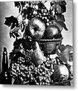 Oregon: Wine & Grapes Metal Print
