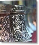 Oriental Coffee Pot Metal Print