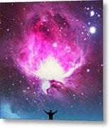 Orion Nebula Awestruck Metal Print
