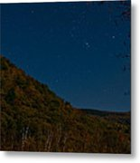 Orion Over Mt. Crawford Metal Print