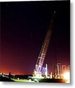 Orion The Barge And The Tugboat. Metal Print by Don Youngclaus