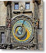 Orloj - Prague Astronomical Clock Metal Print