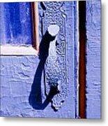 Ornate Door Handle Metal Print