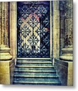 Ornate Entrance Gate Metal Print