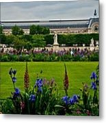 Orsay From The Tuileries Metal Print