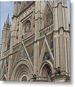 Orvieto Cathedral Metal Print
