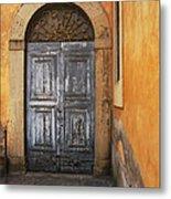 Orvieto Doorway Metal Print