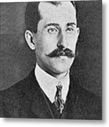 Orville Wright, Us Aviaton Pioneer Metal Print