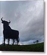 Osborne Bull A Spanish Landmark Metal Print