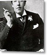 Oscar Wilde, Irish Author Metal Print by Photo Researchers