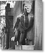 Oscar Wilde Monument Metal Print