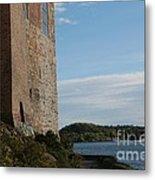 Oslo Castle And Harbor Metal Print