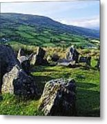 Ossians Grave, Co Antrim, Ireland Stone Metal Print