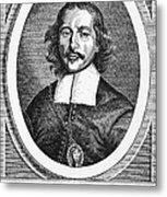 Otto Von Guericke (1602-1686) Metal Print