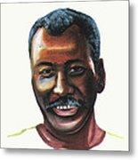 Oumar Souleymane Cisse Metal Print