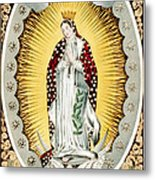 Our Lady Of Guadalupe, Originally Metal Print