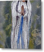 Our Lady Of Lourdes 2 Metal Print