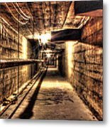 Our Lady Queen Of Angels Tunnels Detroit Mi Metal Print