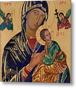 Our Mother Of Perpetual Help Metal Print
