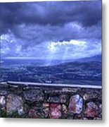 Our Valley Metal Print