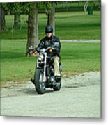 Out For A Ride Metal Print