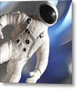 Out In Space Metal Print by Greg Kopriva
