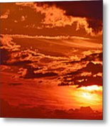 Out My Door Metal Print