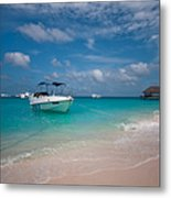 Out Of Border. Maldives Metal Print by Jenny Rainbow
