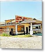 Out Of Business - No.816h Metal Print
