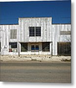 Out Of Business Metal Print