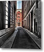 Out Of The Alley Metal Print
