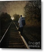 Out Of The Darkness Metal Print by Betty LaRue