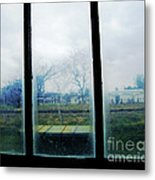 Out The Back Window Of The Delta Blues Museum Clarksdale Ms Metal Print