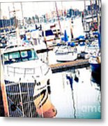 Out To Sea We Go Metal Print