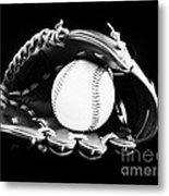 Out To The Ball Park Metal Print