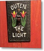 Outen The Light Metal Print