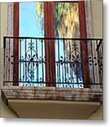 Outer Reflection Metal Print