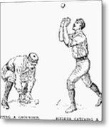 Outfielder, 1889 Metal Print