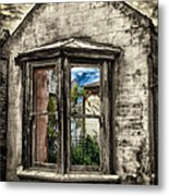 Outside In Metal Print