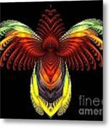 Outstreched Wings Metal Print