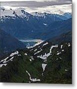 Over Alaska Metal Print by Mike Reid